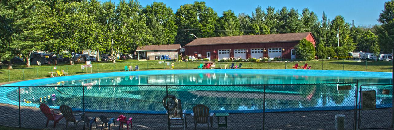 Camping London Ontario >> The Campground With The Big Pool